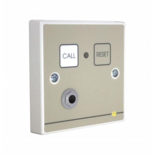 C-Tec Quantec Addressable Call Point, Button Reset c/w Remote Socket