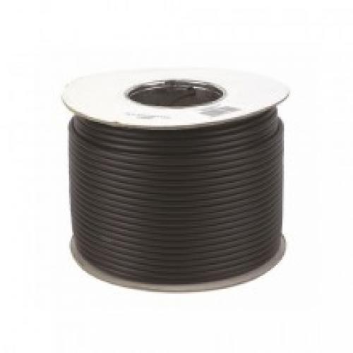Jaylow Coaxial Cable 100m Drum (Black)