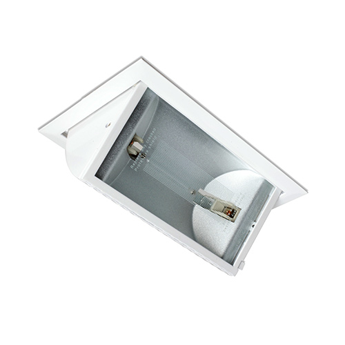 Wall Recessed Light Fittings : 150W recessed rectangular wall washer, outdoor lighting, R150R, Robus UK