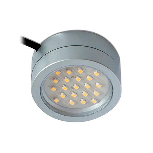 new concept ec2e6 e72f8 Robus 2W Mains Voltage LED Cabinet Light (Satin Silver)