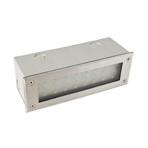 Step lights outdoor lighting led step lights uk robus ip66 smd led brick light stainless steel aloadofball Image collections