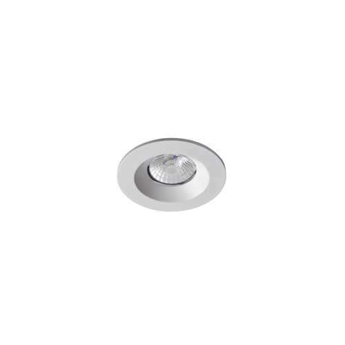 Robus Cavan 8W Cob Led Downlight, IP65, 90mm, White, 4000K, Dimmable (White)