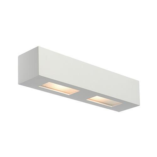 Box 28w led wall light interior wall lighting 10400 saxby lighting uk saxby lighting box 28w wall light white aloadofball Images