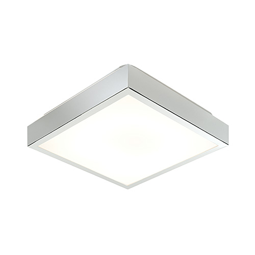 online store 6c5b4 19d6f Saxby Lighting Cubita Medium IP44 28W Bathroom Ceiling Light (Chrome)