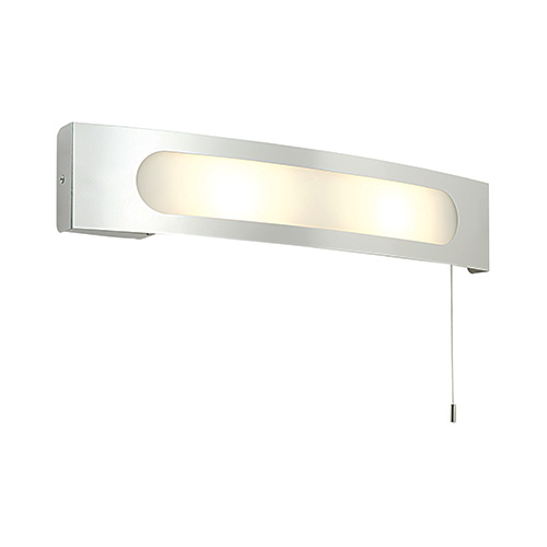 Convesso wall light with shaver socket indoor 39148 saxby lighting uk saxby lighting convesso 25w shaver socket light chrome aloadofball Gallery