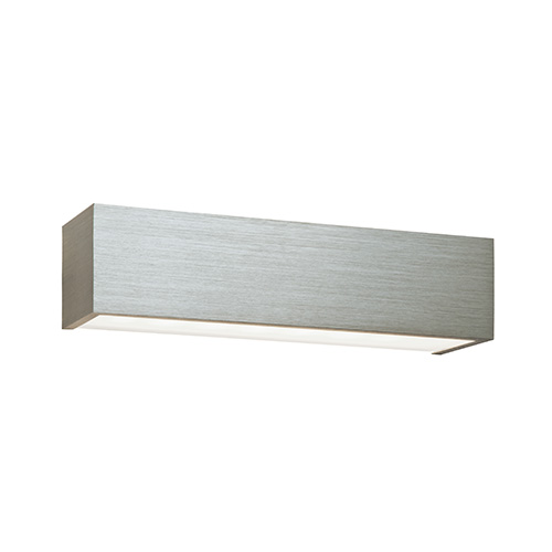 Shale 8w led up down wall light wall lighting 46395 saxby lighting uk saxby lighting shale 8w updown wall light brushed aluminium aloadofball Image collections