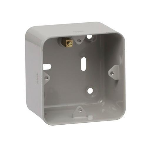 Schneider Electric GET Ultimate 1-2 Gang Flush Box (Grey)
