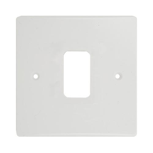 Schneider Electric GET Ultimate 1 Gang Cover Plate (Painted White)