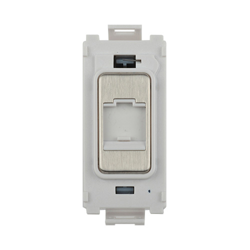 schneider electric ultimate single rj45 grid data socket module rh directtradesupplies co uk