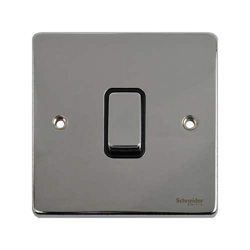 flat plate 1 gang 2 way switch indoor gu1212bpc schneider electric uk rh directtradesupplies co uk