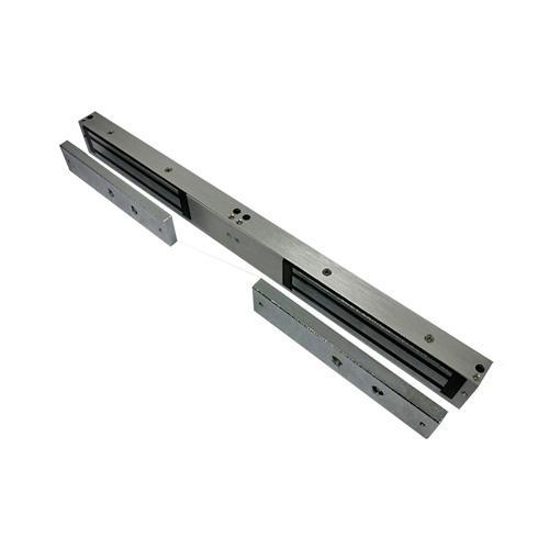 Securefast Deedlock Slimline Double Magnetic Lock Unmonitored (Aluminium)