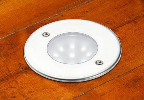 Firstlight 1806WH LED Recessed Outdoor Walkover Light 6000K (White)