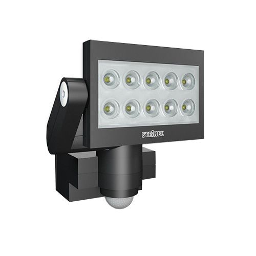 steinel xled exterior floodlight pir led floodlights. Black Bedroom Furniture Sets. Home Design Ideas