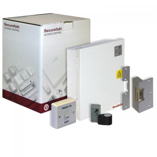 Securefast Deedlock Single Door Proximity Access Control Kit (White)