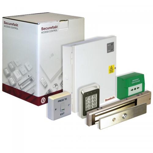 Securefast Deedlock AKT4226 Single Door Keypad Kit (White)