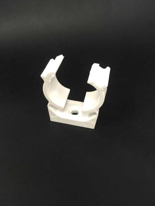 MITA UK25W 25mm Conduit Clip (White)