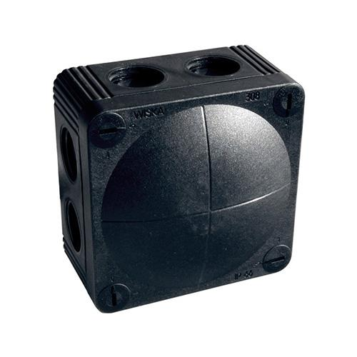 wiska black weatherproof junction box external junction boxes