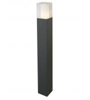 Searchlight Outdoor Light Post 900CM E27 Dark Grey/white