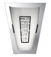 Searchlight Wall Light Led Mirror Edge IP44
