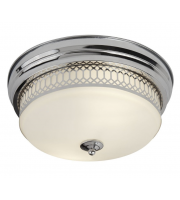 Searchlight Edinburgh 2LT Flush (Chrome)
