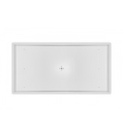 Integral Surface Mounted Box For 1200 x 600mm Panel (Matt White)