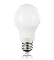 Integral E27 470Lumens 5.5W Eq. to 40W 2700k 80cri 240 Frosted (Warm White)