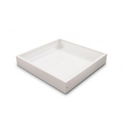Integral Surface Mounted Box For 600x600 Panel Dimensions 602x602x100mm (Matt White)