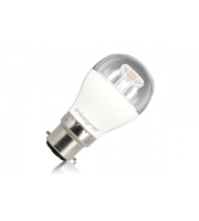 Integral B22 470Lumens 6.2W Eq. to 40W 2700k 80cri 240 Clear (Warm White)