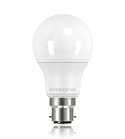 Integral B22 470Lumens 5.5W Eq. to 40W 2700k 80cri 240 Frosted (Warm White)