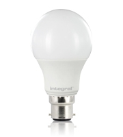 Integral B22 470Lumens 6.7W Eq. to 40W 2700k 80cri 240 Frosted (Warm White)