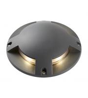 Saxby Lighting Islay Quad IP65 1W LED Ground Light (Matt Anthracite)