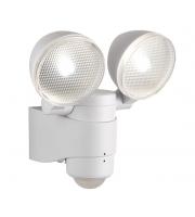 Saxby Lighting Laryn IP44 2W Twin LED Spotlight (White)