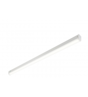 Saxby Lighting Hydron 19W 4ft Single Emergency LED Batten (White)