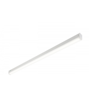 Saxby Lighting Hydron 28W 6ft Single Emergency LED Batten (White)