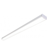 Saxby Lighting Hydron 41W 4ft Twin Emergency LED Batten (White)