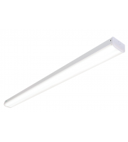 Saxby Lighting Hydron 60W 6ft Twin Emergency LED Batten (White)