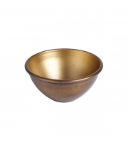 Endon Home Carson Small Bowl (Aged Brass/Matt Gold)