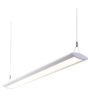 Endon Kaba Single 29W LED Suspended Fitting (Matt White)
