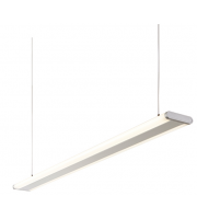 Endon Soren Twin 14W Suspended LED Module (Silver Anodised)