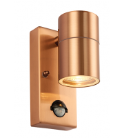 Endon Palin IP44 PIR Wall Light (Copper Lacquer)