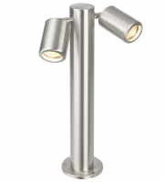 Endon Atlantis 280mm IP65 Post Light (Brushed Stainless)