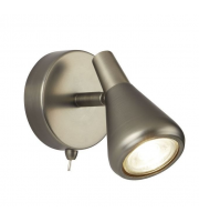 Searchlight Tinley 1LT Spotlight GU10 Antique Silver