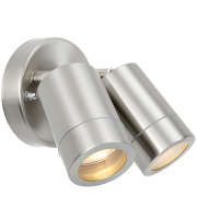 Saxby Lighting Atlantis 2lt spot IP65 7W (Stainless Steel)