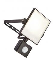 Saxby Lighting Scimitar PIR IP44 10W cool white (Black)