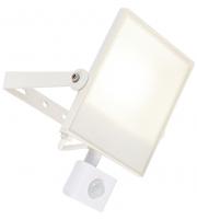 Saxby Lighting Scimitar PIR IP44 30W cool white  (White)