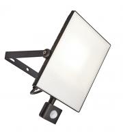 Saxby Lighting Scimitar PIR IP44 50W cool white  (Black)