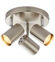 Saxby Lighting Arezzo 3lt round 7W (Satinless Steel)