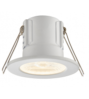Saxby Lighting ShieldECO 800 IP65 8.5W warm white (Matt White)