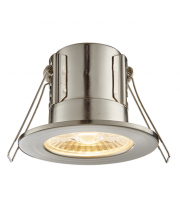 Saxby Lighting ShieldECO 800 IP65 8.5W warm white (Satin Nickel)