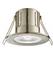 Saxby Lighting ShieldECO 800 IP65 8.5W cool white  (Satin Nickel)